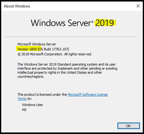 ADMX templates Windows Server 2019