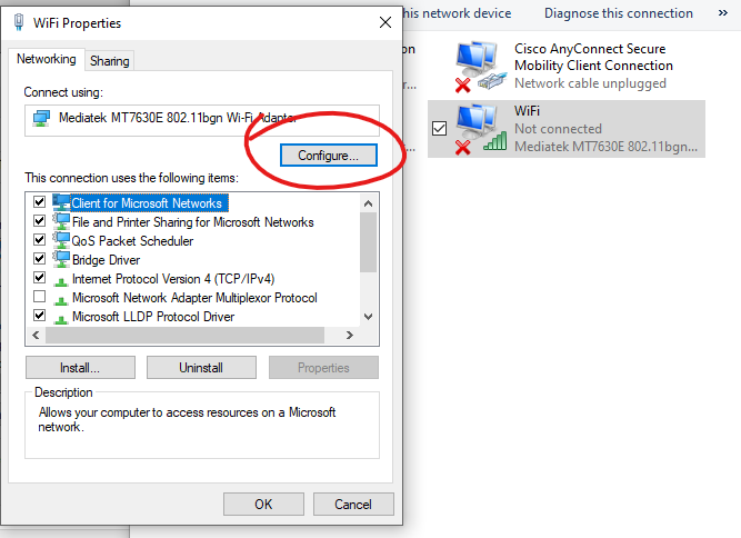 Can't connect to WiFi on channel 13 after windows update (multiple