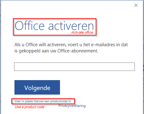Office 2016 activation notification after updates