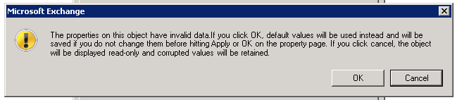 Exchange 2007 Message