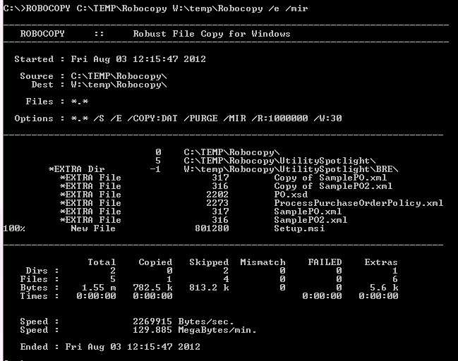 Robocopy create backup script page 2 windows 7 help forums.