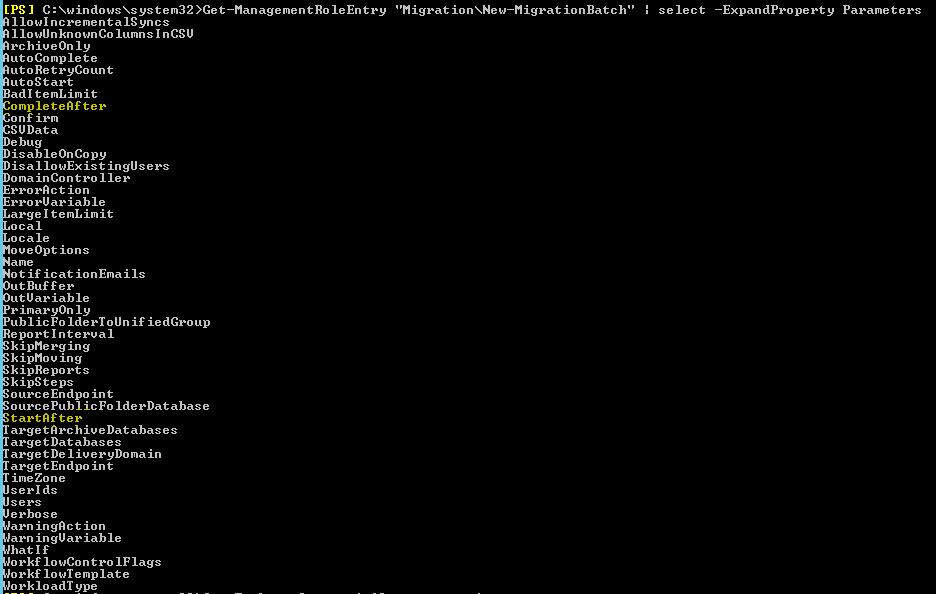 batch migration option start the batch automatically after time