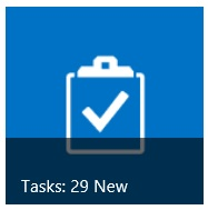 New Tasks Tile