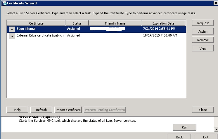 Cannot Start Lync Access Edge Server - %%-2146762487