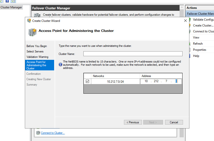 cluster services working correctly before .NET 4.8 is installed