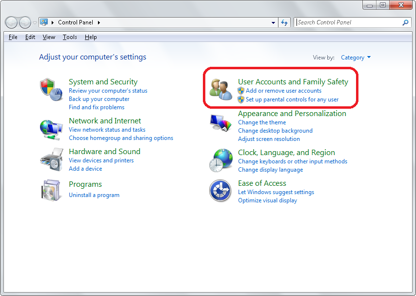 "Start ->Control Panel"" src=""https://social.technet.microsoft.com/Forums/getfile/1493657"" /></p><p><img alt="