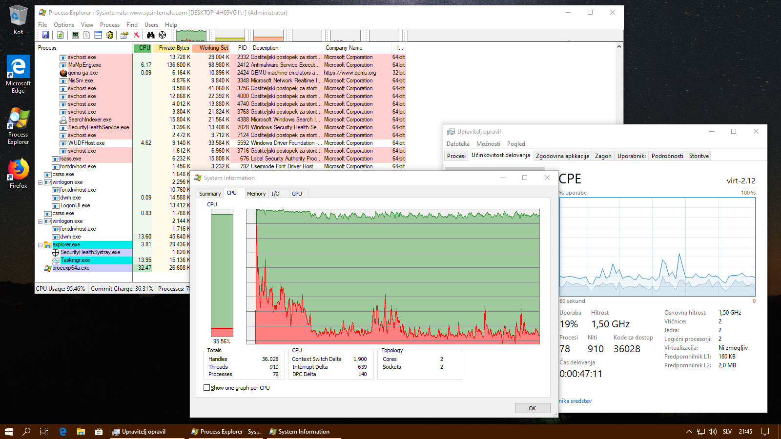 Screenshot - single graph