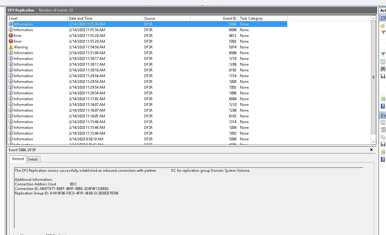 Скрин с рабочего домен контроллера
