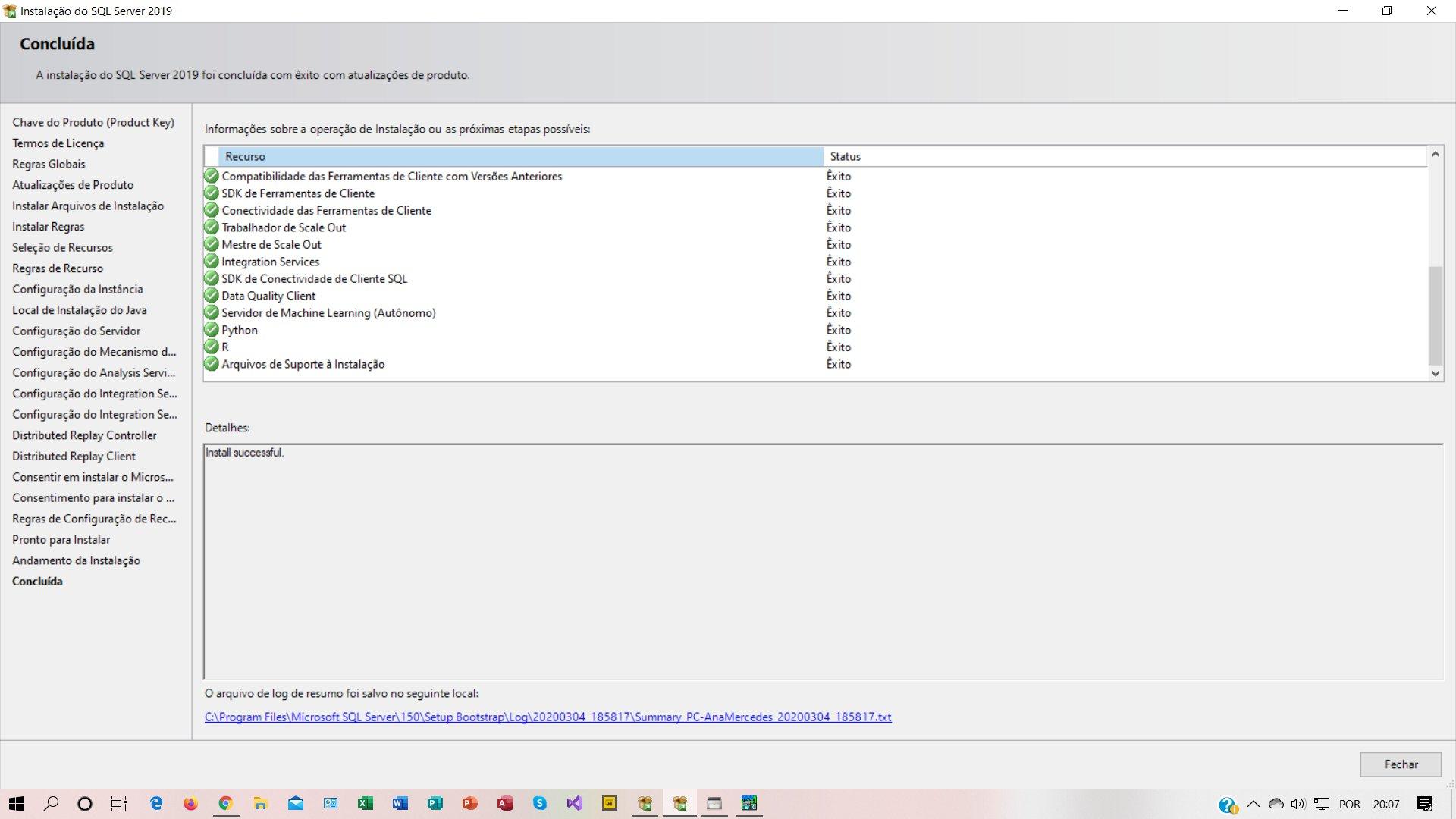Microsoft SQL Server 2019 B