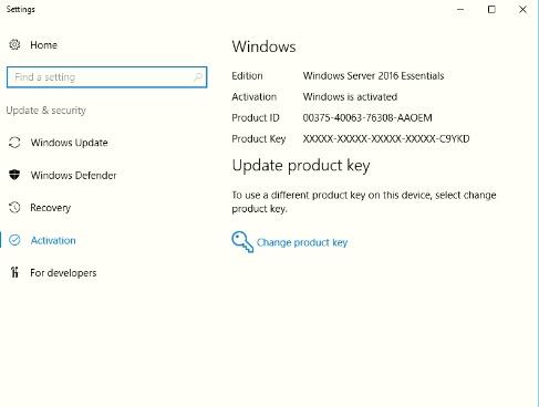 Windows Activado
