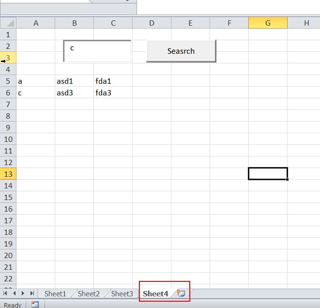 Excel Vba Search Text In Textbox