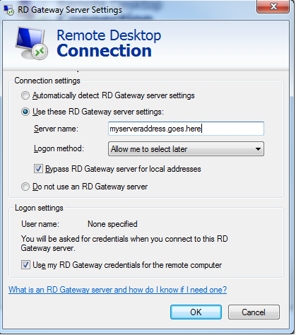 WHS 2011 - remote desktop gateway