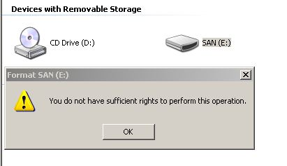 Deny users format usb stick windows 7 for Window is not defined