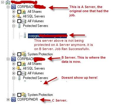 how to show server list