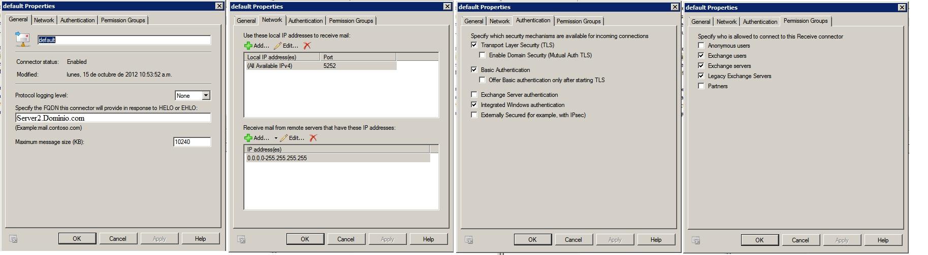 Conector Defaultserver 2