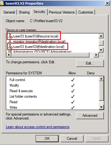 how to create folder with acl in windows 7