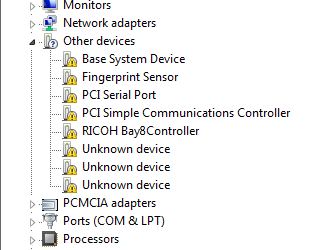 HP 6910p Windows 7 Drivers in a Task Sequence