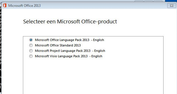 how to change display language in office 2013