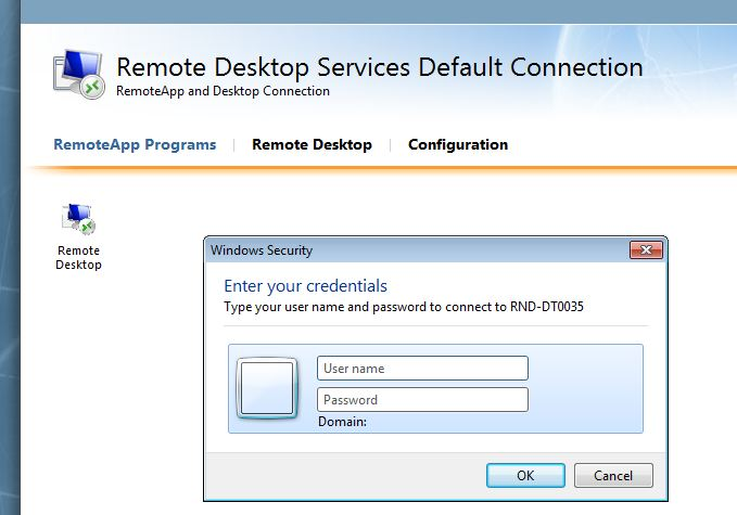 Remote Desktop Services (Terminal Services) forum