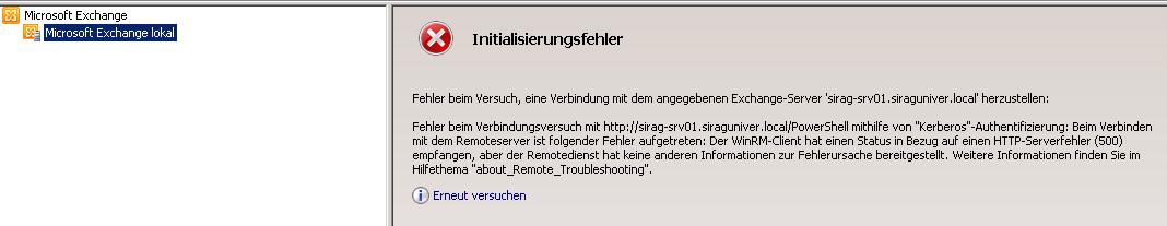 Neuer server -01 wenn der alte server nicht am Netz ist