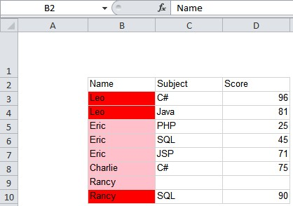SSRS 2012 matrix report colors do not export to excel correctly