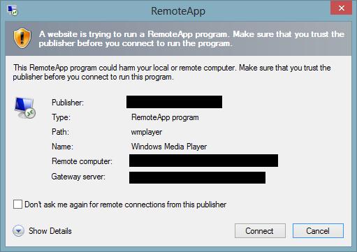 how to make windows trust a program