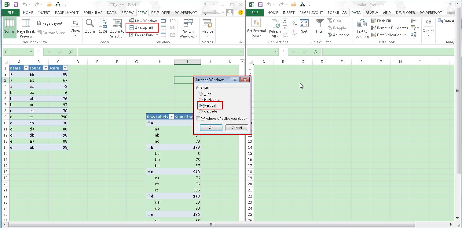 Workbooks vba workbooks.open : Excel 2013: How to Position Workbook w/VBA
