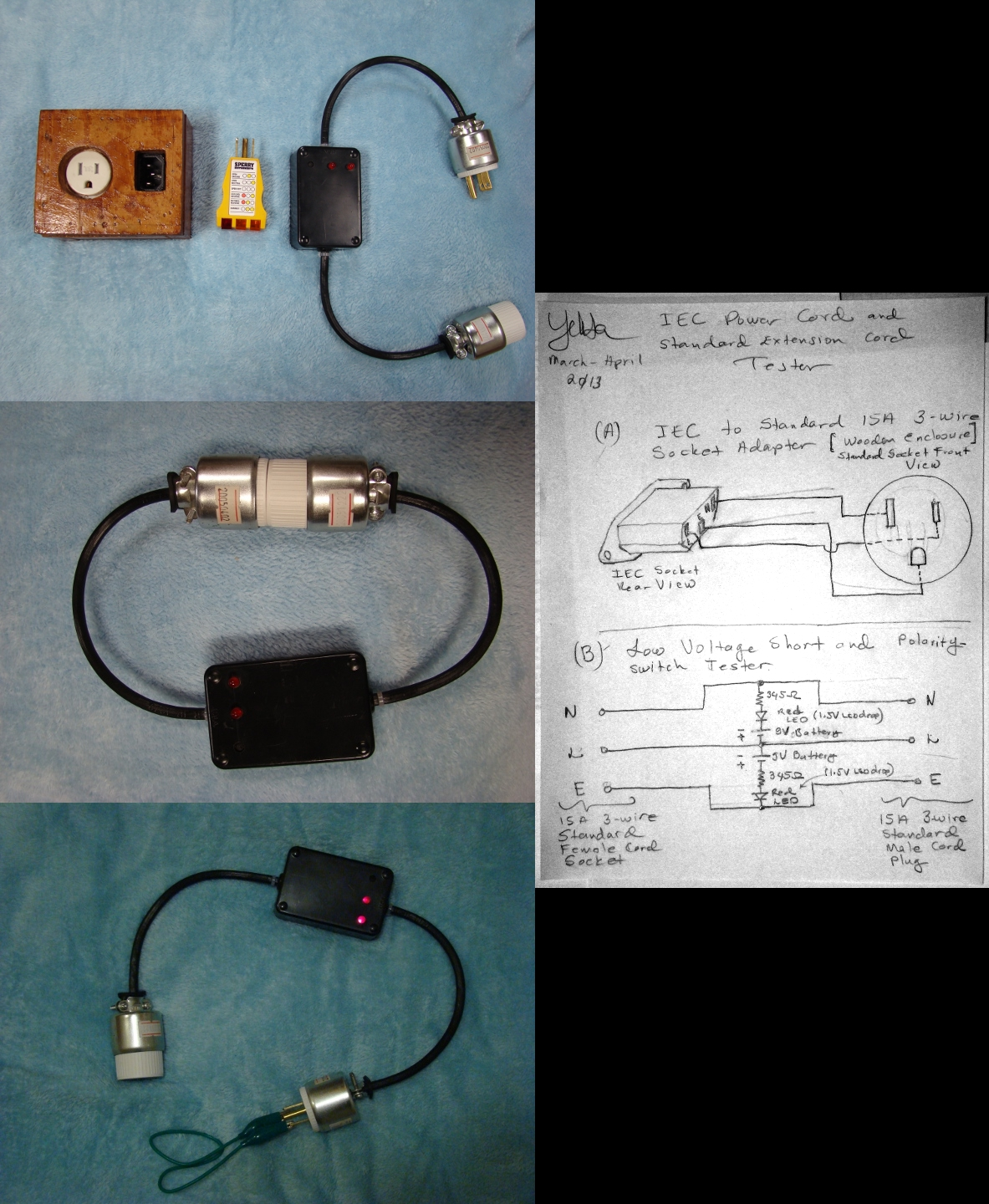 A Sector Seek Across Logical Boundaries Problem Iec Receptacle Wiring Diagram The Components Of Versatile Three Component And Standard Extension Power Cord Tester From Left To Right Socket 3 Wire