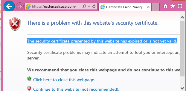 Exchange Certificate Issues