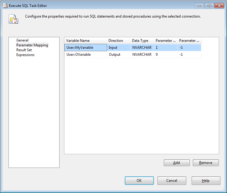 assign variable in sql server