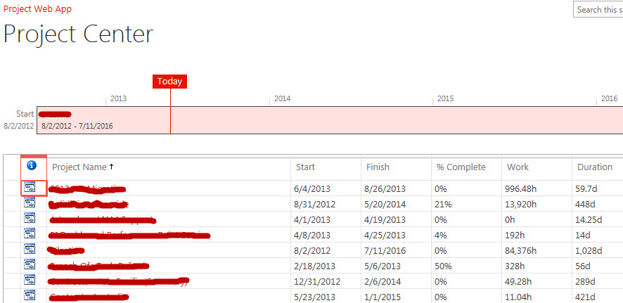 How to change date format in ms project 2013