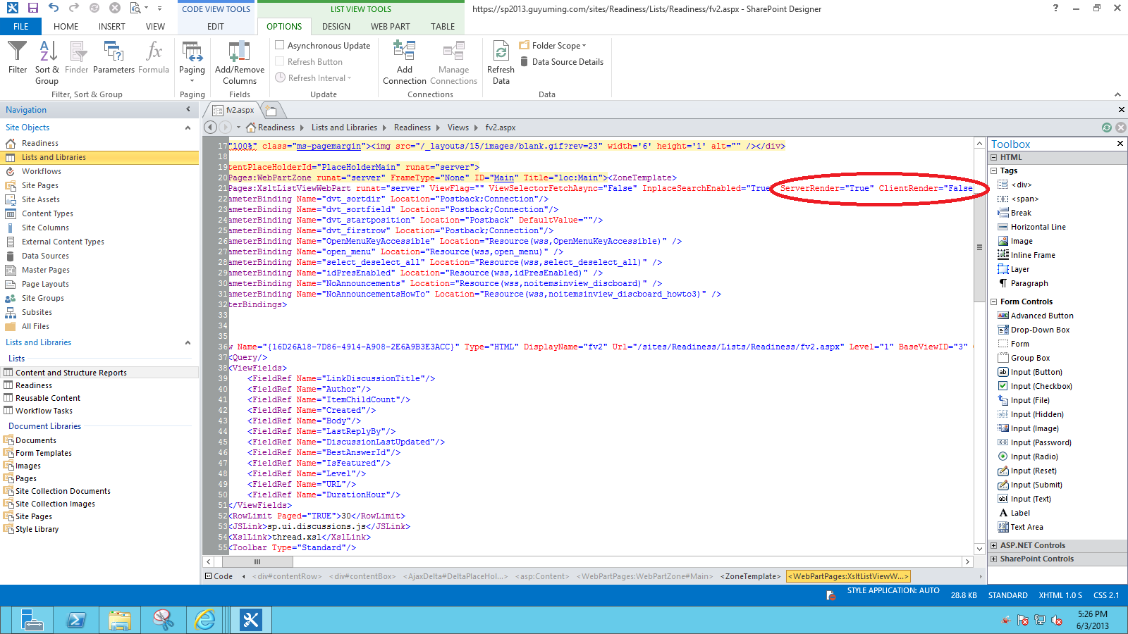 Unable to Customize SharePoint 2013 Discussion Board