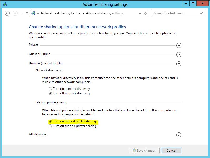 SCCM 2012 Setup error when setting SQL connection info