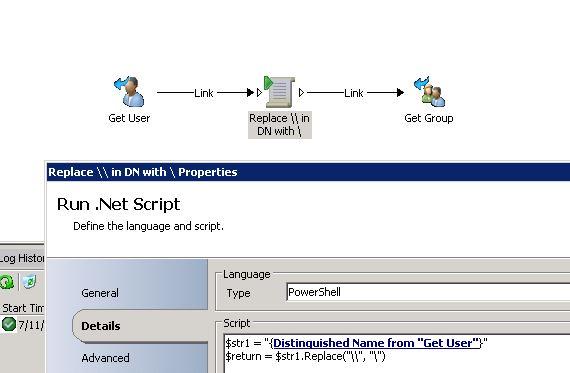Run Net Script to repalce backslash Published Data bus.JPG
