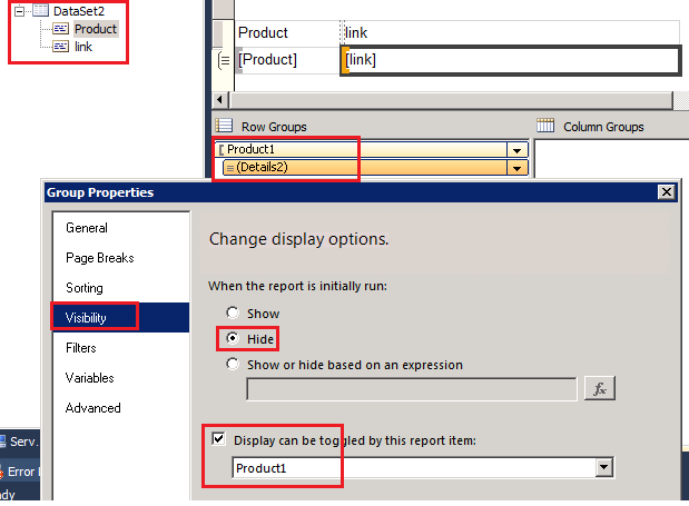 ssrs 2008 r2 create bullet lists