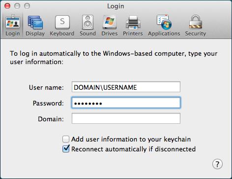 windows rdp client for mac mountain lion
