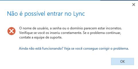 Lync Erro