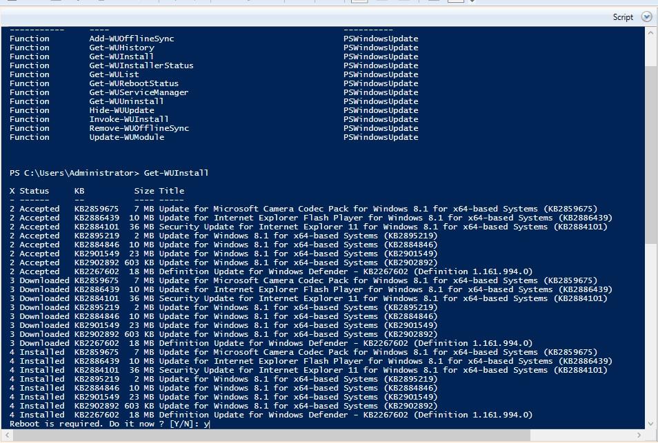Windows 8 1 Won't get updates in audit mode