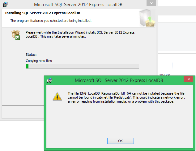 silent install sql server 2012 express