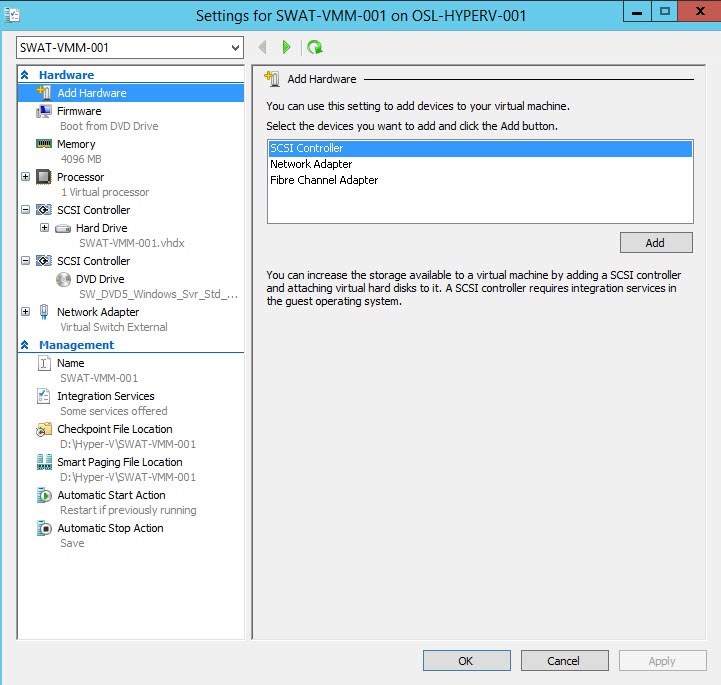 Hyper-V VM Generation 2 - How to boot from  ISO