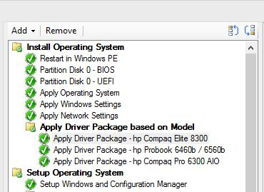SCCM 2012 R2 OSD Very slow at Driver package and config