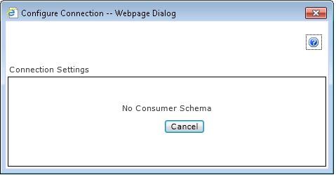 No Consumer Schema