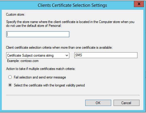 how to get a client certificate