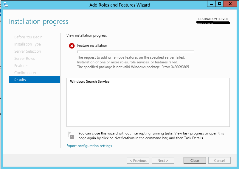 how to remove only search from win 1