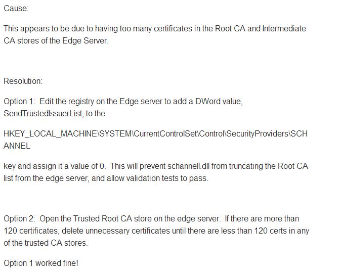 Fix Edge Replication issue