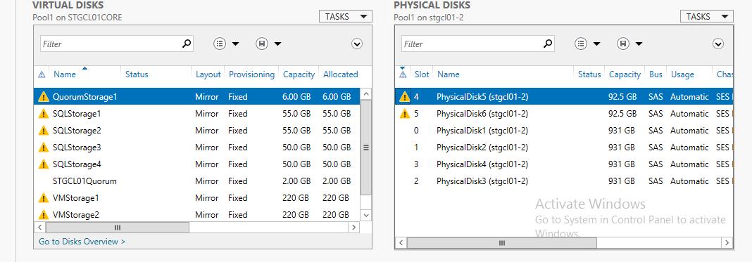 Microsoft Storage Spaces Controller