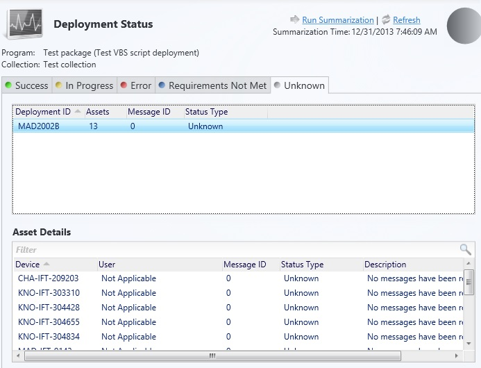 SCCM 2012 R2 problem with device deployment (user deployments OK)