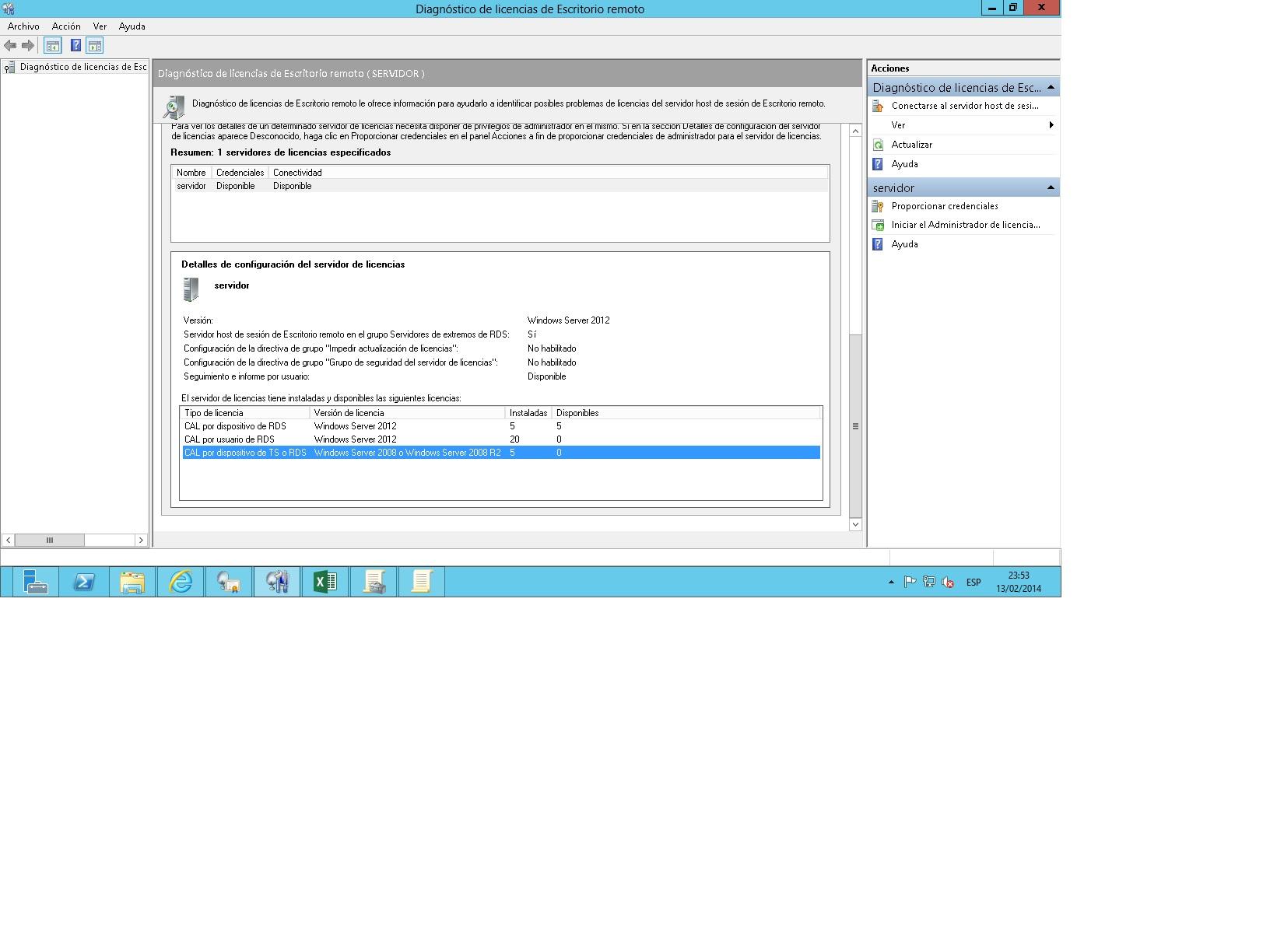 Modo De Licencia Rd No Configurado En Windows Server 2012