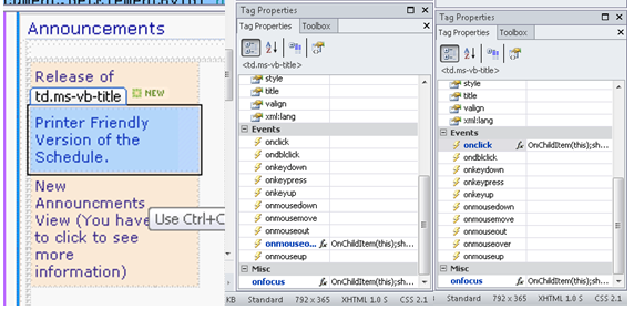 How to change preview pane from mouseover to on click