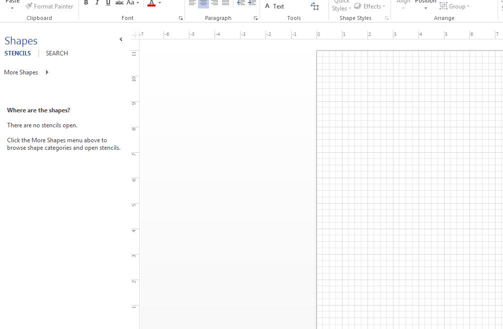 Cannot Find Rack Diagram In Visio 2013